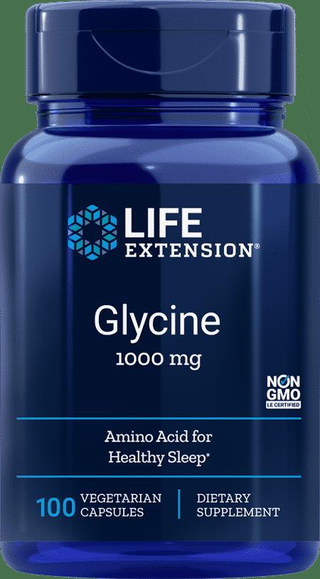 Glycine, 1000 mg, 100 vegetarian capsules 1