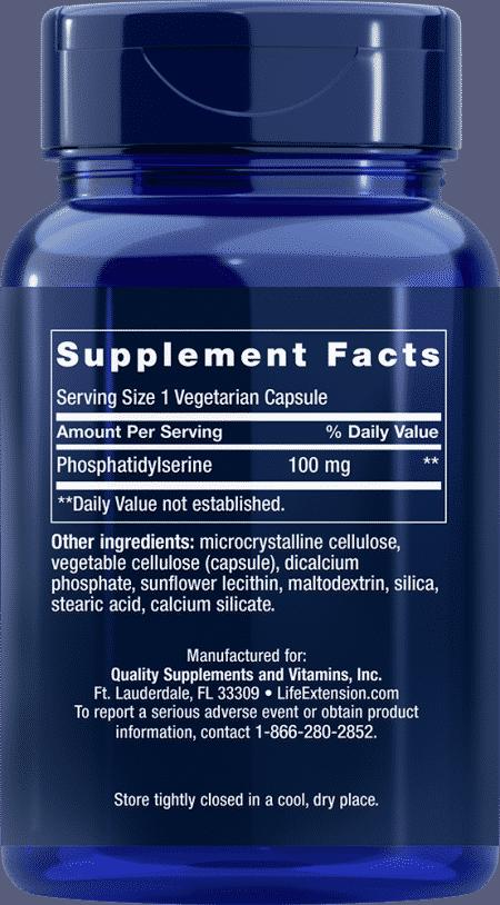 PS Caps, 100 mg, 100 vegetarian capsules 2