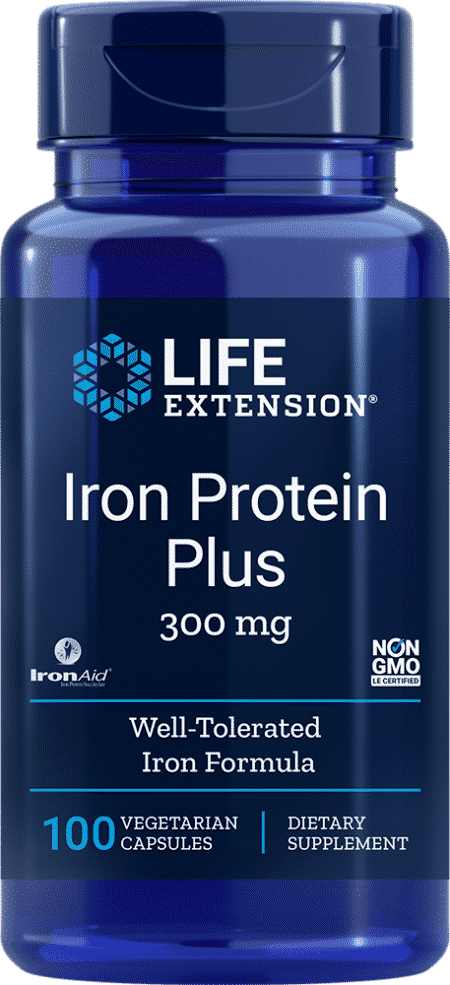 Iron Protein Plus, 300 mg, 100 capsules 1