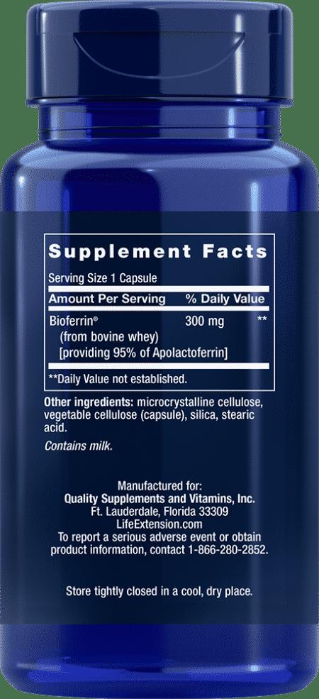 Lactoferrin Caps, 60 capsules 2
