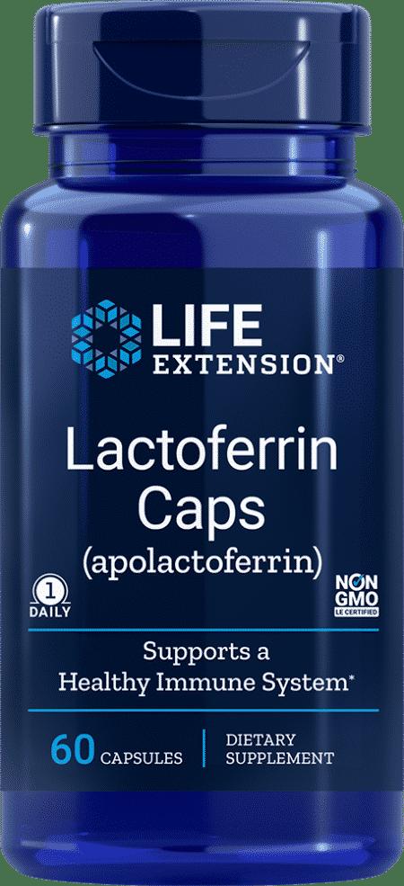Lactoferrin Caps, 60 capsules 1