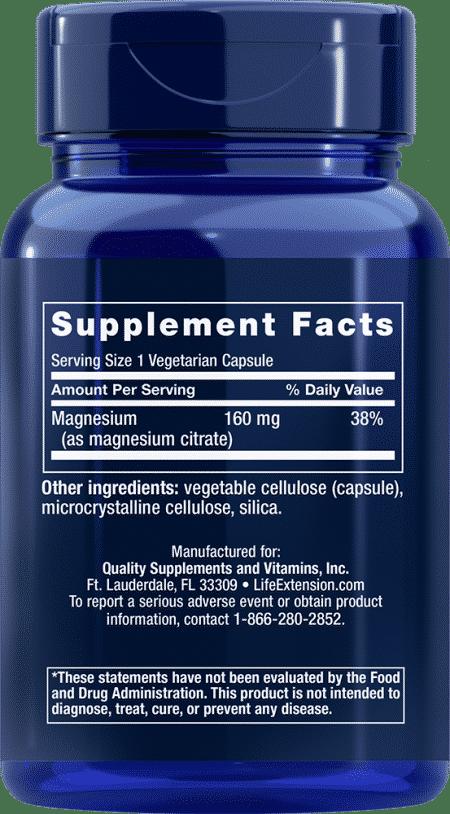 Magnesium (Citrate), 160 mg, 100 VeggieC 2