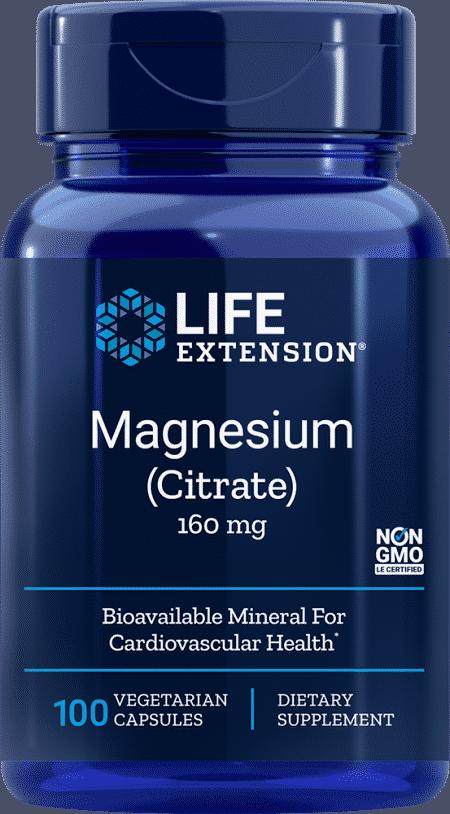 Magnesium (Citrate), 160 mg, 100 VeggieC 1