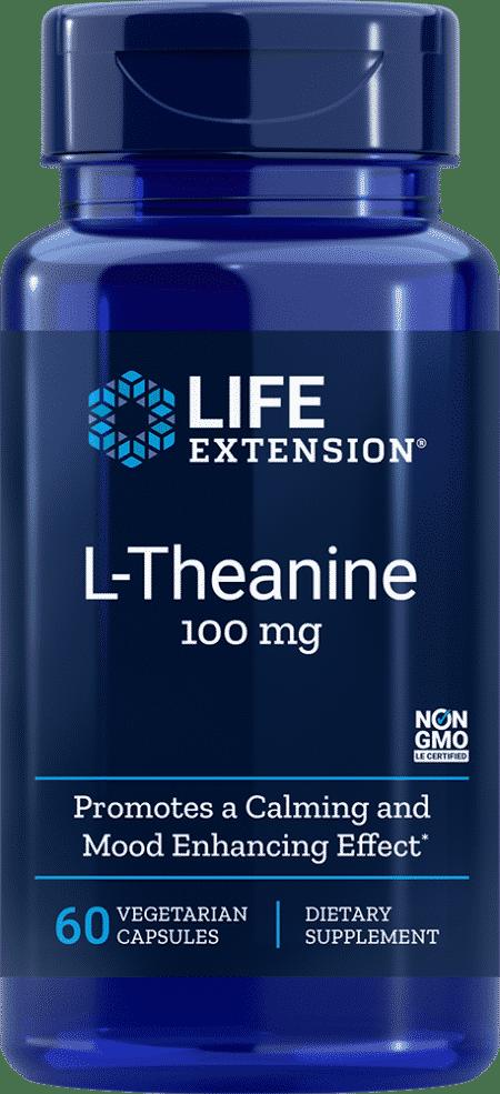 L-Theanine, 100 mg, 60 vegetarian capsules 1