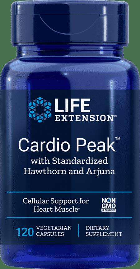 Cardio Peak™ w/ Std Hawthorn & Arjuna, 120 VeggieC 1