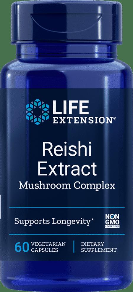 Reishi Extract Mushroom Complex, 60 VeggieC 1
