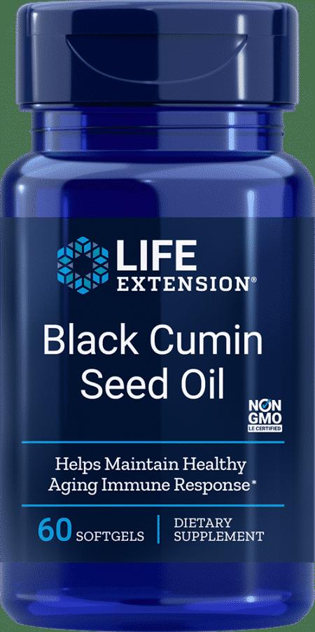 Black Cumin Seed Oil, 60 softgels 1