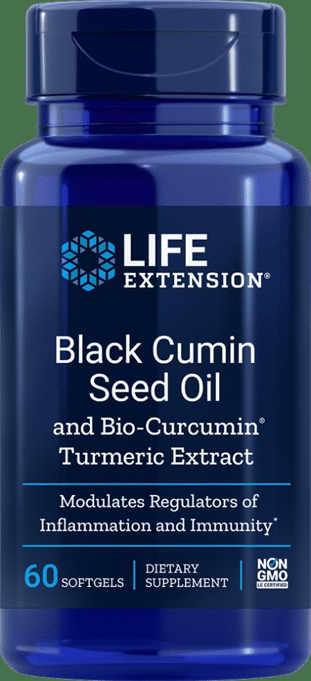 Black Cumin Seed Oil with Bio-Curcumin®, 60 S 1