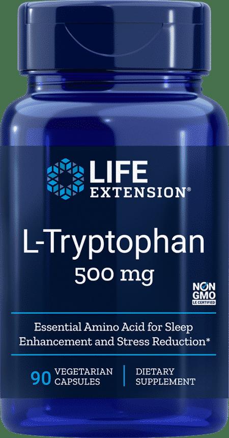L-Tryptophan, 500 mg, 90 vegetarian capsules 1