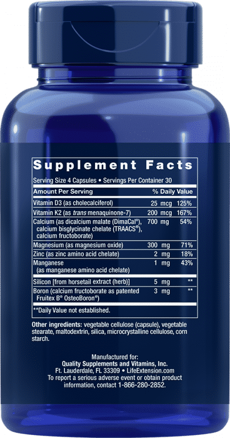 Bone Restore with Vitamin K2, 120 capsules 2