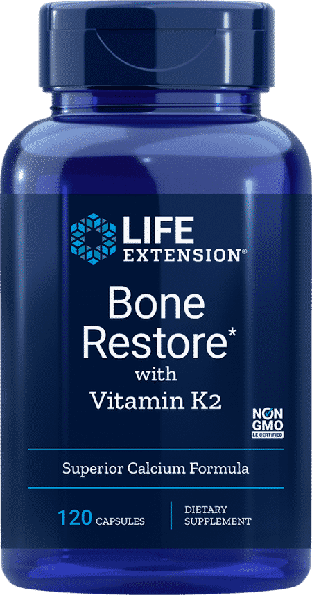 Bone Restore with Vitamin K2, 120 capsules 1