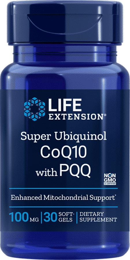 Super Ubiquinol CoQ10 with PQQ, 100 mg, 30 S 1