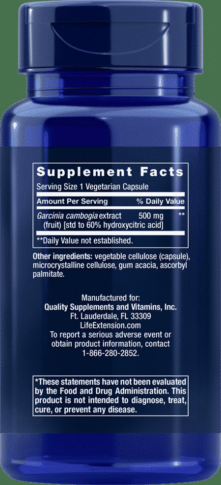 Garcinia HCA, 90 vegetarian capsules 2