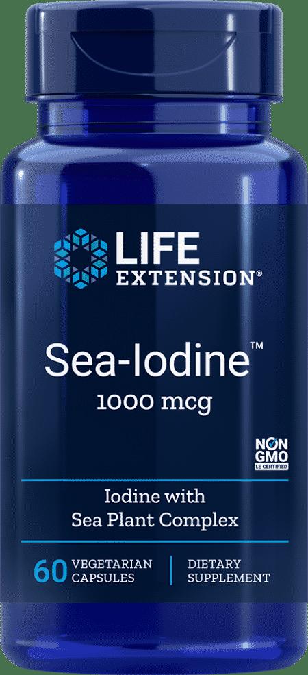 Sea-Iodine™, 1000 mcg, 60 vegetarian capsules 1