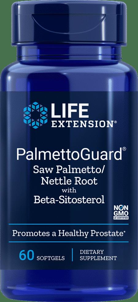 PalmettoGuard® Saw P/Nettle R Form w/ Beta-S, 60 S 1