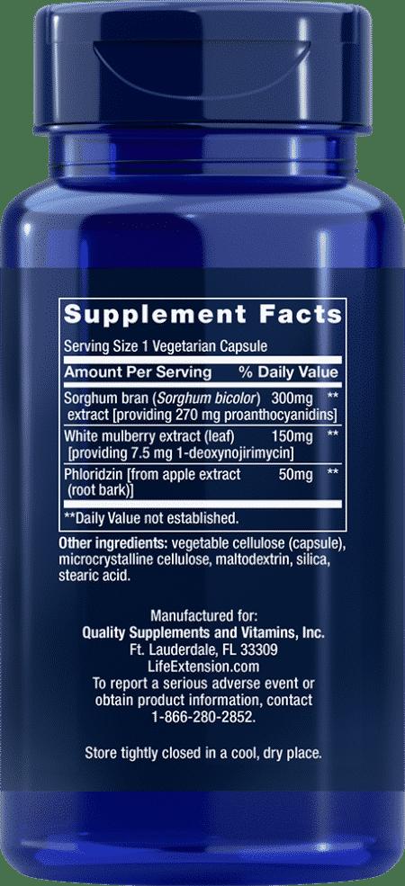 Tri Sugar Shield®, 60 vegetarian capsules 2