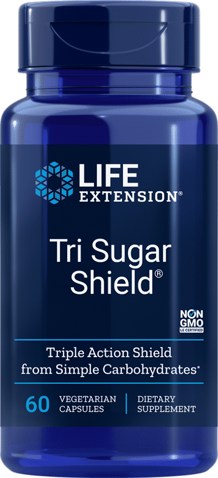 Tri Sugar Shield®, 60 vegetarian capsules 1
