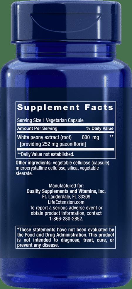Peony Immune, 60 vegetarian capsules 2
