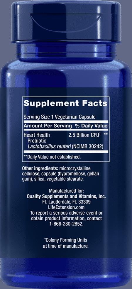 FLORASSIST® Heart Health, 60 vegetarian capsules 2