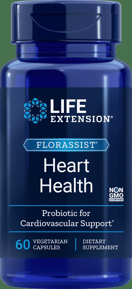 FLORASSIST® Heart Health, 60 vegetarian capsules 1