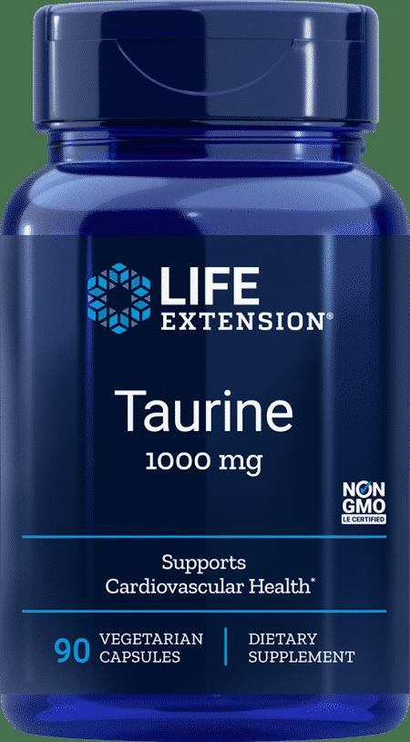 Taurine, 1000 mg, 90 vegetarian capsules 1