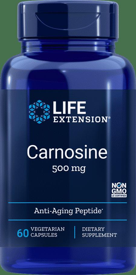 Carnosine, 500 mg, 60 vegetarian capsules 1