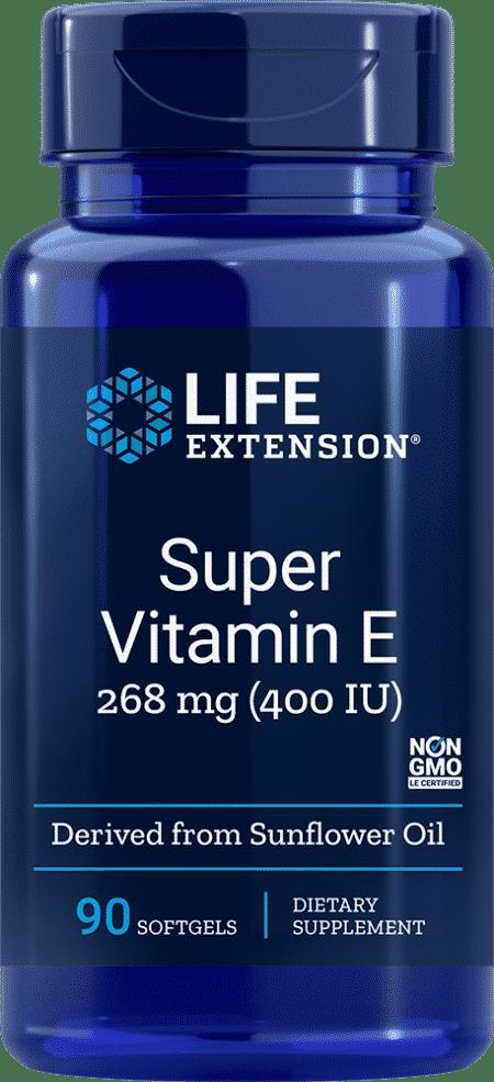 Super Vitamin E, 400 IU, 90 softgels 1