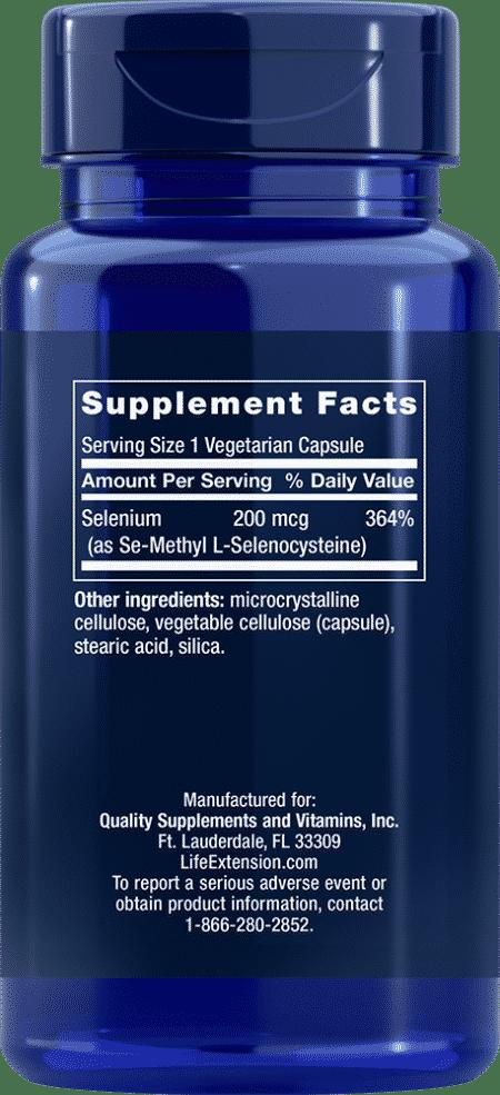 Se-Methyl L-Selenocysteine, 200 mcg, 90 VeggieC 2