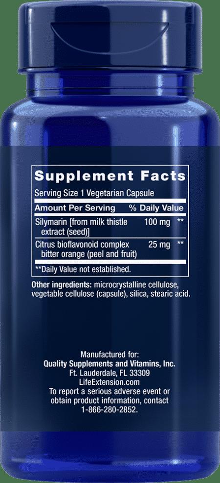 Silymarin, 100 mg, 90 vegetarian capsules 2