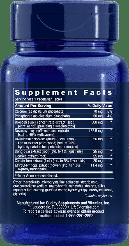 Estrogen For Women, 30 vegetarian tablets 2