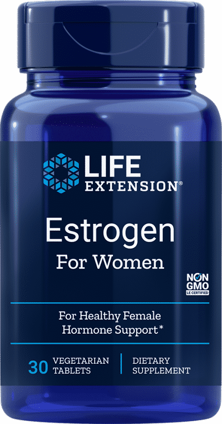 Estrogen For Women, 30 vegetarian tablets 1
