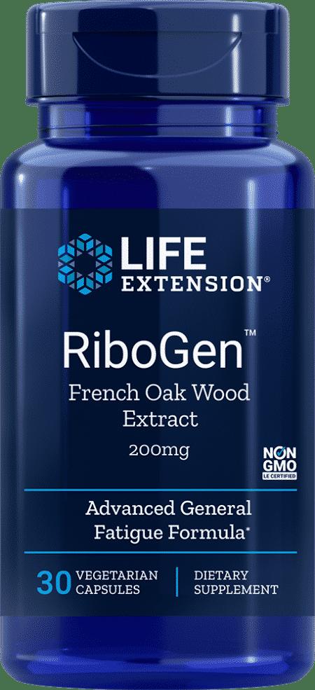 RiboGen™ French Oak Wood Ext, 200 mg, 30 VeggieC 1