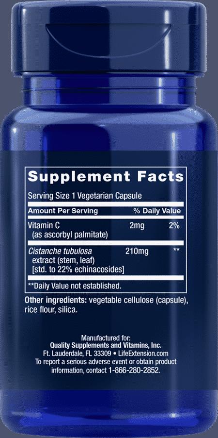 Standardized Cistanche, 30 vegetarian capsules 2