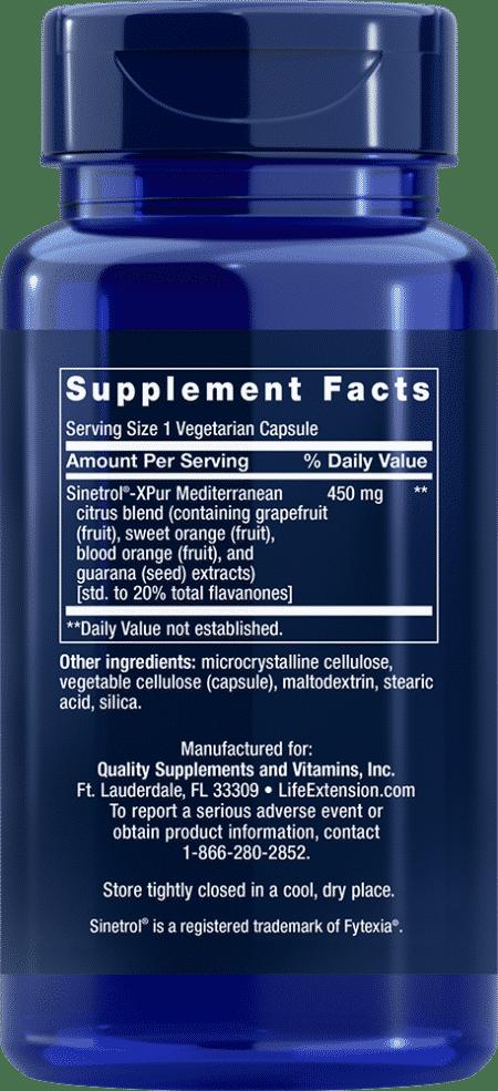 Mediterranean Trim with Sinetrol™-XPur, 60 VeggieC 2