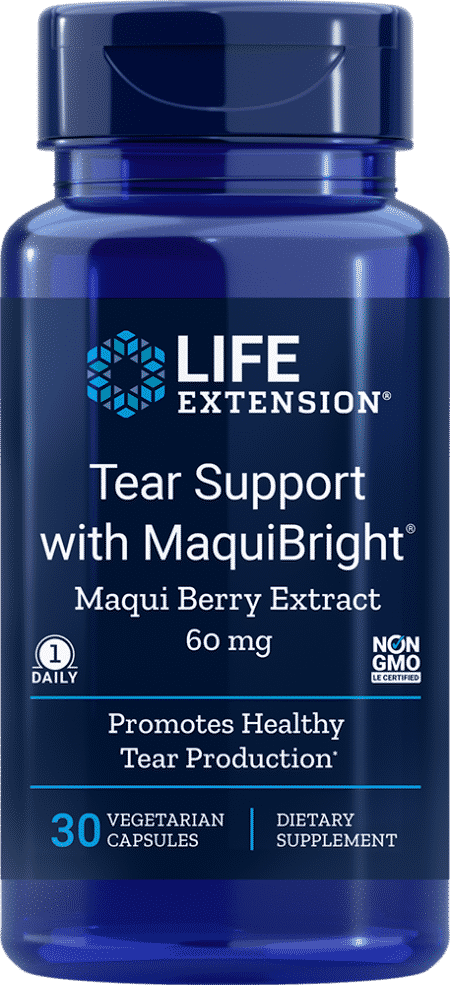 Tear Support with MaquiBright®, 60 mg, 30 VeggieC 1