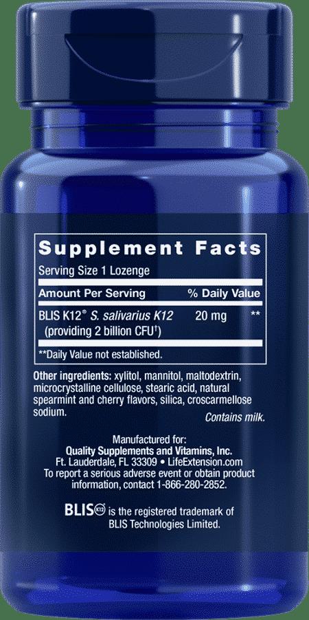 FLORASSIST® Throat Health, 30 lozenges 2
