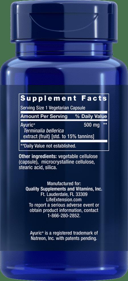 Uric Acid Control, 60 vegetarian capsules 2