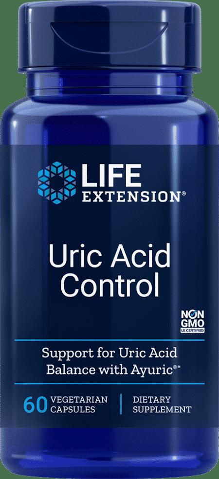 Uric Acid Control, 60 vegetarian capsules 1