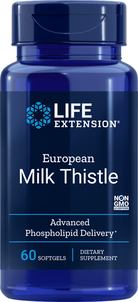European Milk Thistle, 60 softgels 1