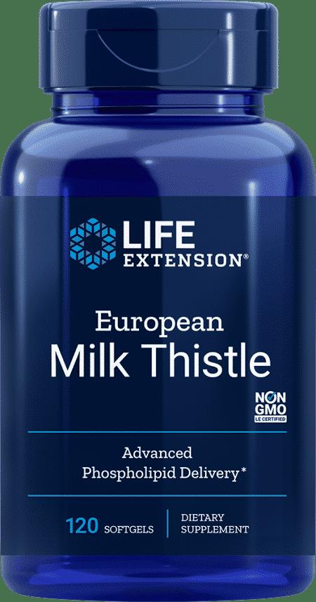 European Milk Thistle, 120 softgels 1