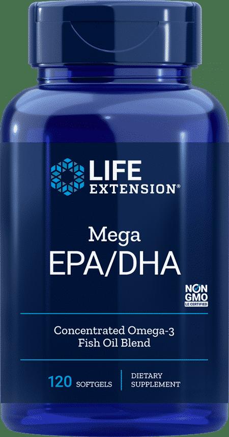 OMEGA FOUNDATIONS® Mega EPA/DHA, 120 softgels 1