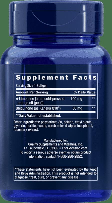 Super-Abs CoQ10 w/ d-Limonene, 50 mg, 60 S 2