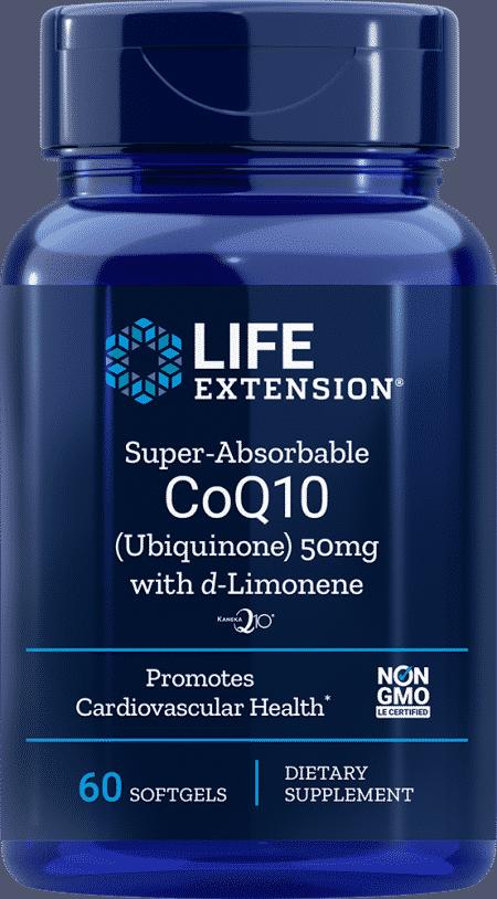 Super-Abs CoQ10 w/ d-Limonene, 50 mg, 60 S 1