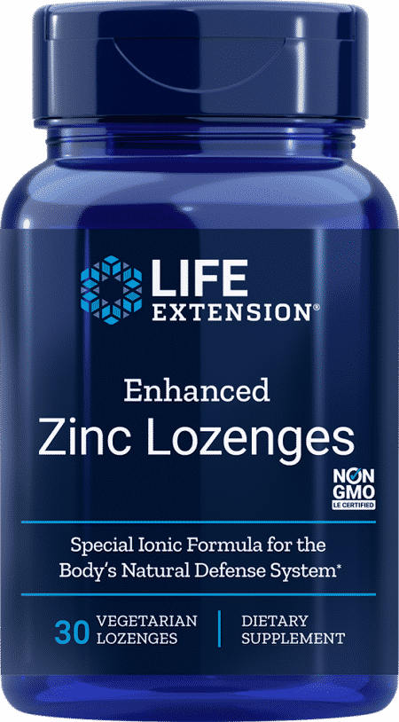 Enhanced Zinc Lozenges, 30 vegetarian lozenges 1
