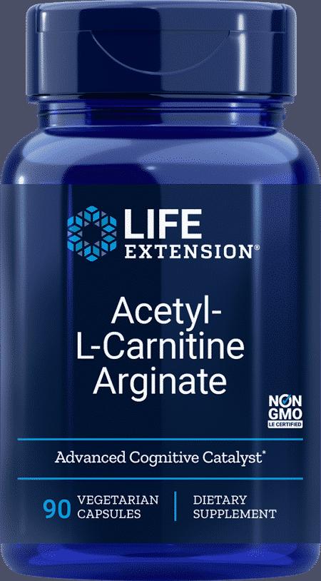 Acetyl-L-Carnitine Arginate, 90 VeggieC 1