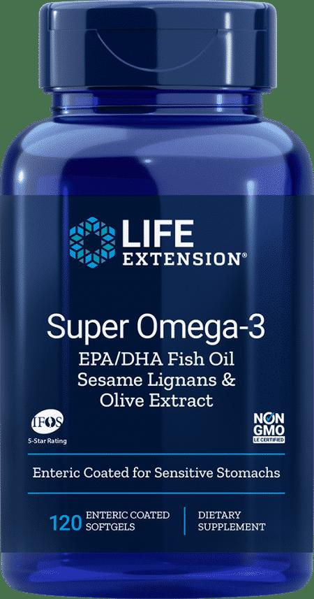 Sup Omega-3 EPA/DHA w/ Sesa & Olive, 120 Ent-CoatS 1