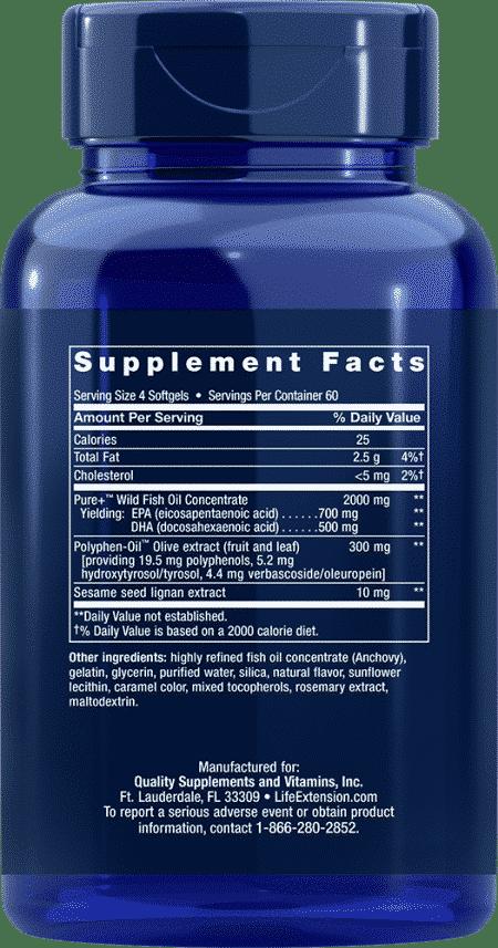 Super Omega-3 EPA/DHA w/ Sesame & Olive Ext, 240 S 2
