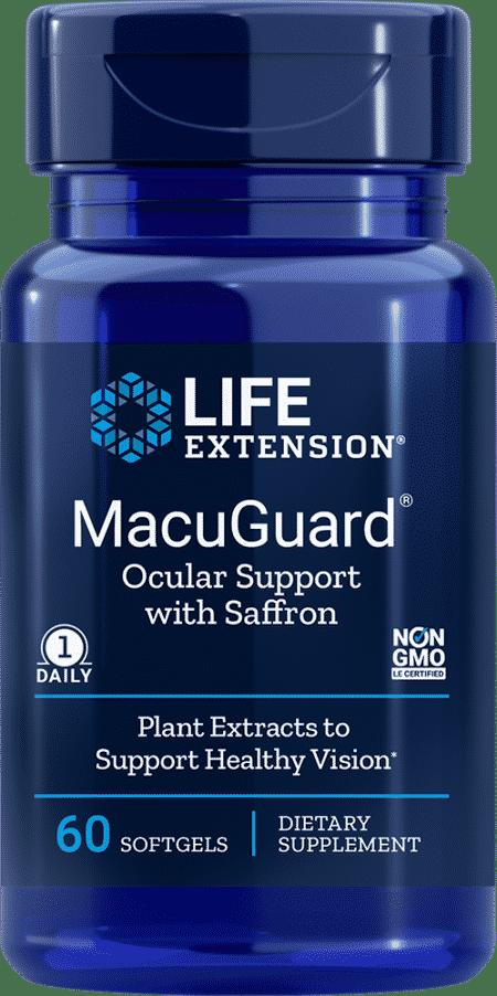MacuGuard® Ocular Support with Saffron, 60 S 1
