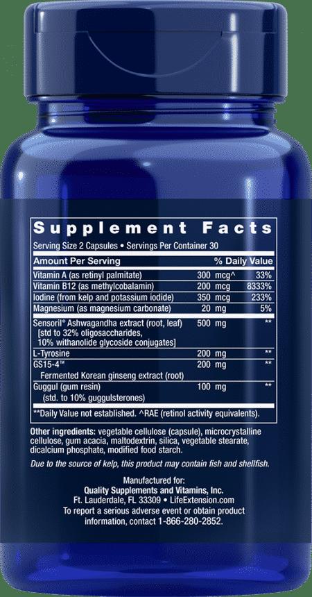 Triple Action Thyroid, 60 vegetarian capsules 2