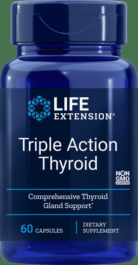 Triple Action Thyroid, 60 vegetarian capsules 1